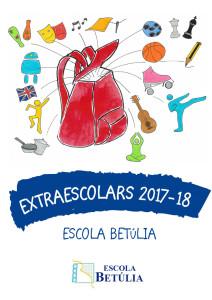 EXTRAESCOLARS 17-18 betulia CURT portada