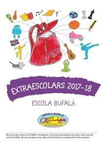 EXTRAESCOLARS bufala 17-18-2