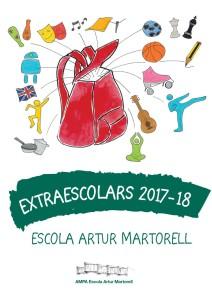 EXTRAESCOLARS portada artur 17-18-3