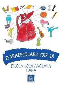 portada EXTRAESCOLARS tiana 17-18